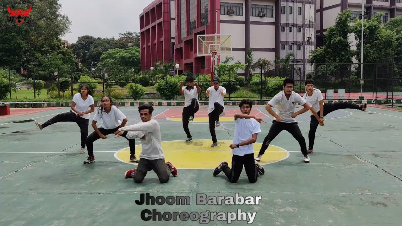 JHOOM BARABAR CHOREOGRAPHY || WE THE CREW || IIT(ISM) DHANBAD