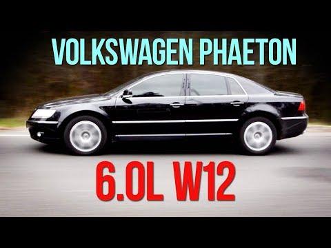 Volkswagen PHAETON 6.0 W12 - империя наносит ответный удар