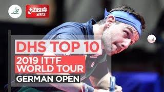 10 лучших розыгрышей | German Open 2019