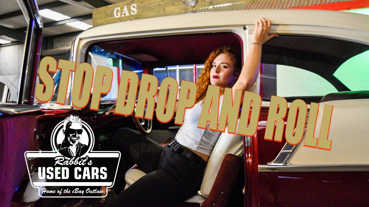 STOP DROP AND ROLL - RABBIT'S USED CARS