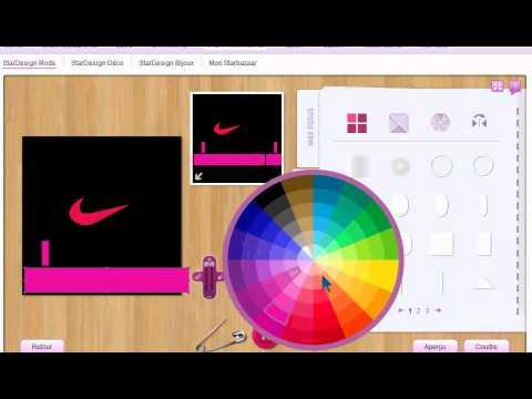 stardoll comment faire un t shirt nike dans le stardesign youtube. Black Bedroom Furniture Sets. Home Design Ideas