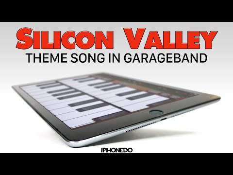 Silicon Valley —Theme Song Created in GarageBand [4K]