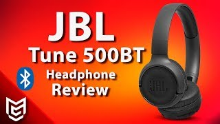 JBL T500 BT Detailed Hands On Review - Mert Gundogdu