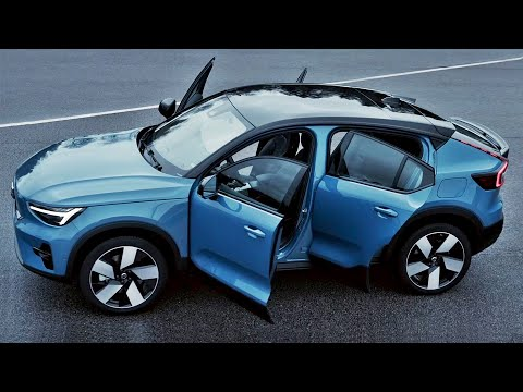 2022 Volvo C40 Recharge - interior Exterior and Driving (Fantastic Crossover)