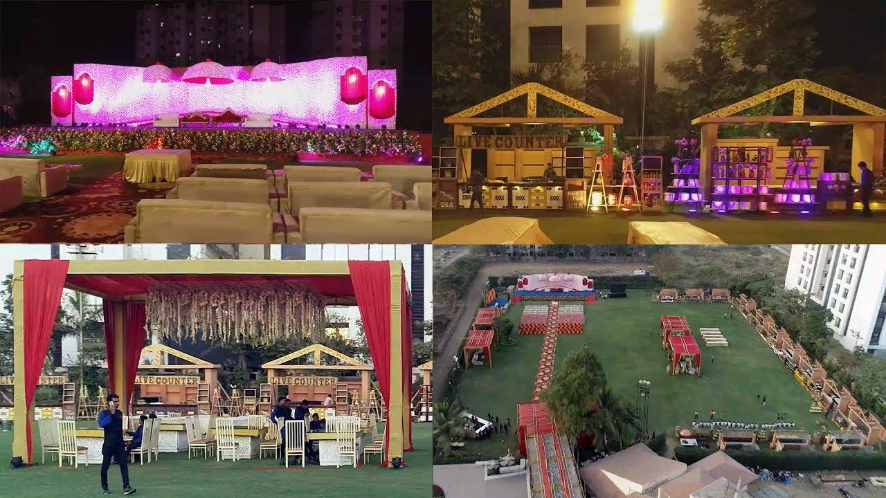 Indian Wedding Reception Stage Decoration Stage Decoration