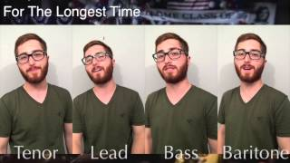 For The Longest Time -- Billy Joel -- One Man Quartet - MY LAST VIDEO EVER