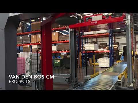 Corrugated Conveyor Logistic System