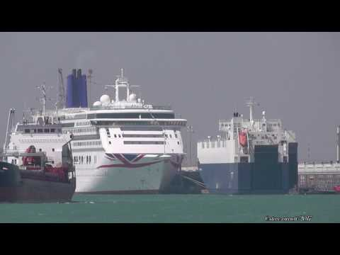 "Gram Car Carriers ""Viking Odessa"" sails Southampton to Santander 10/5/17"