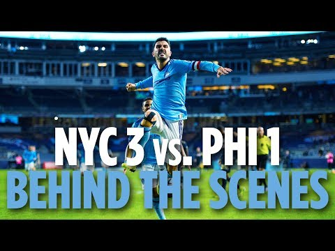BEHIND THE SCENES | NYCFC vs. Philadelphia Union | 10.31.18