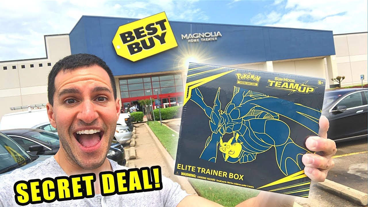 *HOW I GOT CHEAP POKEMON CARDS AT BEST BUY!* Opening NEW Booster Packs From The Store!
