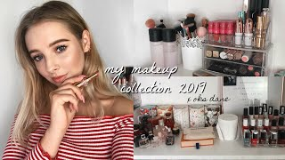MY MAKEUP COLLECTION 2019💋✨||Oks Dane