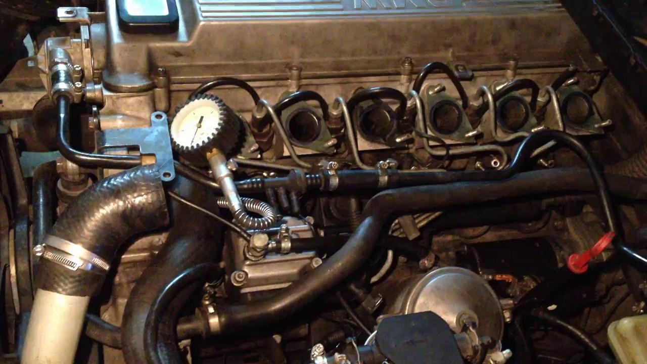 Замер компрессии дизельного двигателя BMW m51