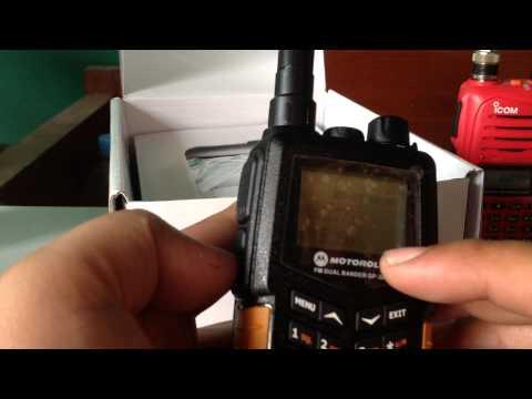 เปิดกล่อง วิทยุสื่อสาร MpTo รุ่น Gp-303