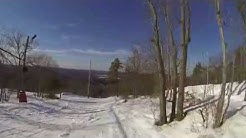 Skiing at Blue Hills Reservation in MA