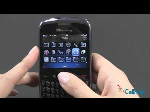 BlackBerry Curve 9300 Menu and Navigation