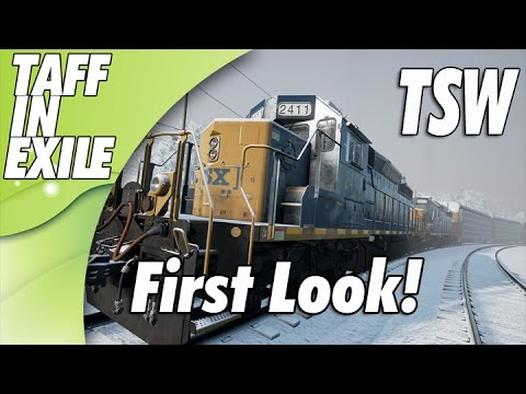 Train Simulator World - Public Beta 9 - First Look - Cold & Dark Startup