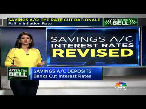 SAVINGS A/C: THE RATE CUTTING SPREE