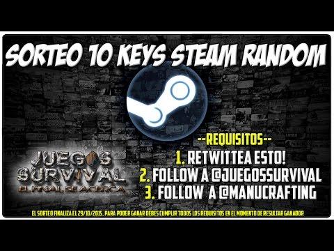 Sorteo 10 Juegos Random De Steam Para Pc Hasta El 29 De Octubre
