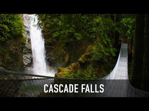 Cascade Falls Suspension Bridge