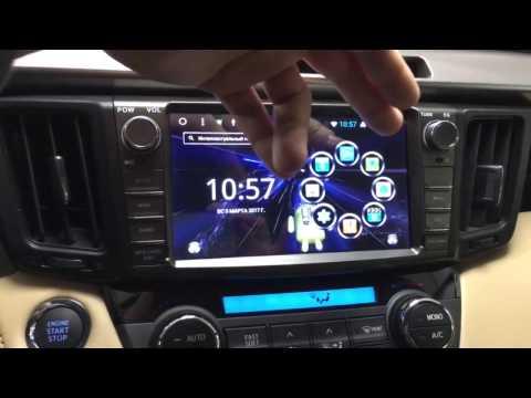 Штатная магнитола Toyota Rav-4. Megabox P-8045 Android OS