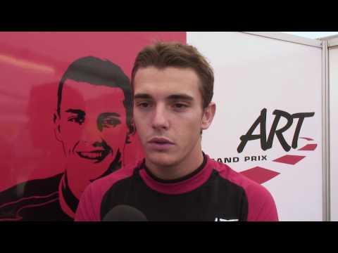 Interview de Jules Bianchi Pilote F3 ART Grand Prix