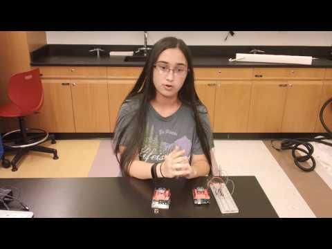 Bryanna's First Milestone - Gesture-Controlled Robot
