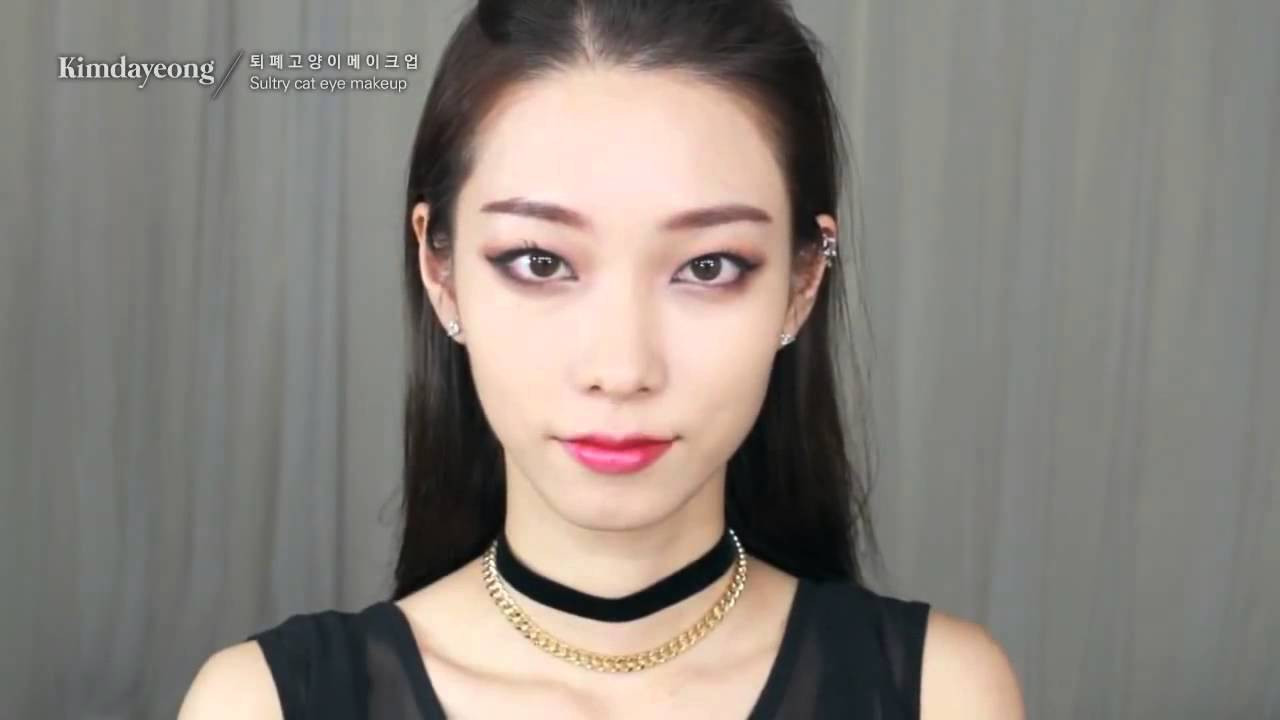 How To Look Like A Korean Girl 2015 - makeup tutorial korean style 2015 - YouTube