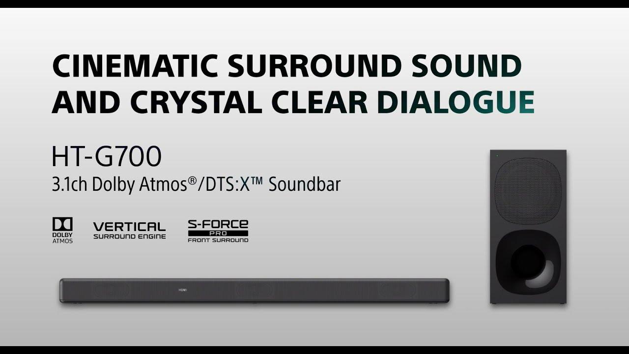 HT-G700 - 3.1 ch Dolby Atmos® Soundbar