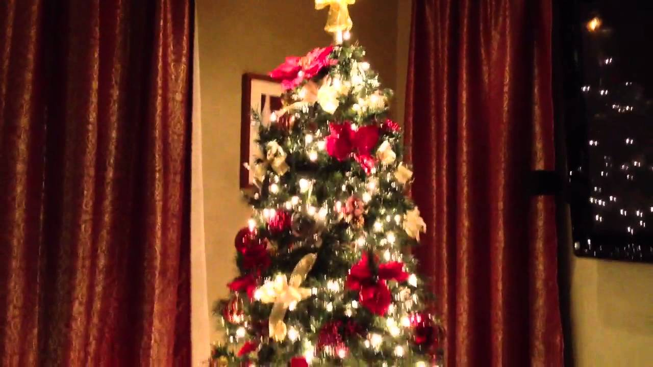 Remote controlled Christmas Tree - YouTube