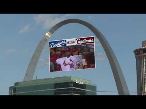 """Ha Ha Tonka """"Rewrite Our Lives"""" at St Louis Cardinals NLCS Game"""