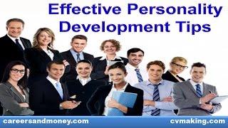 Effective Personality Development Tips