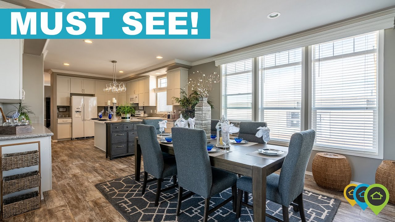 This Dream Manufactured Home Will Make You Look Twice! - KITCHEN GOALS!!