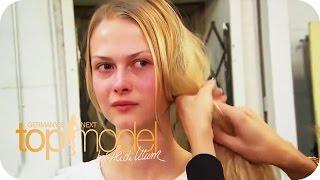 Kurzhaarfrisur für Lisa   Germany's next Topmodel 2015   ProSieben