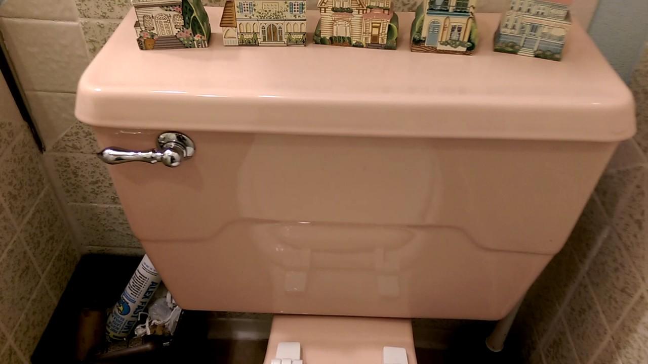 Light Pink 1972 Kohler Wellworth Toilet