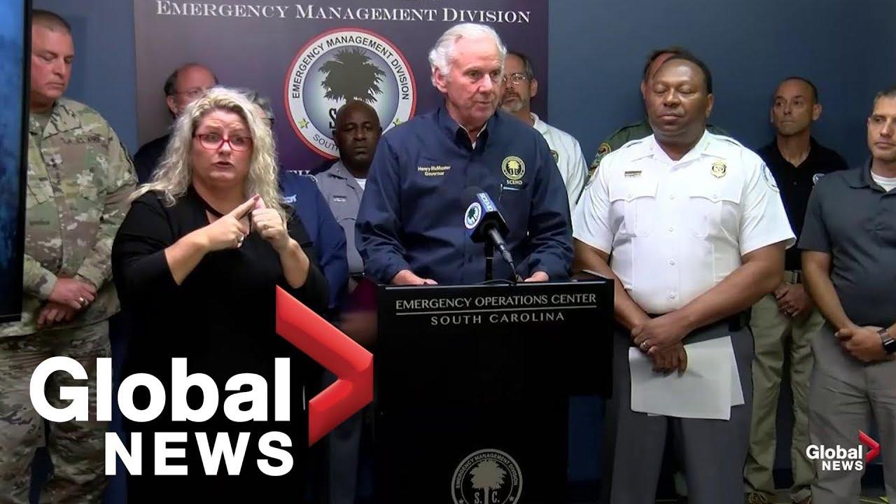 Hurricane Dorian slams Charleston, SC, particularly hard. Here's a look at the damage