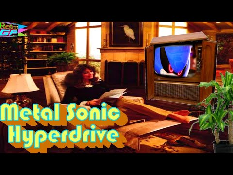 Metal Sonic Hyperdrive the Sonic Hack running on a real SEGA Genesis - Retro GP thumbnail