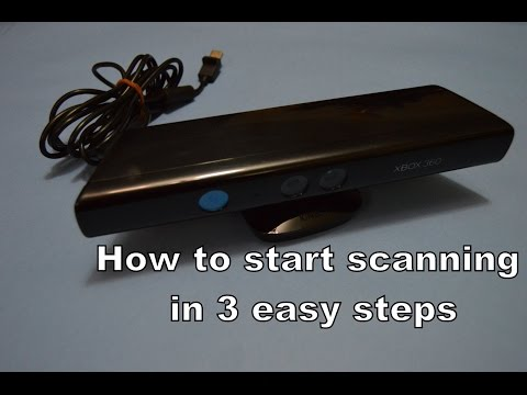 3D PRINTING - How to start scanning in 3 easy steps