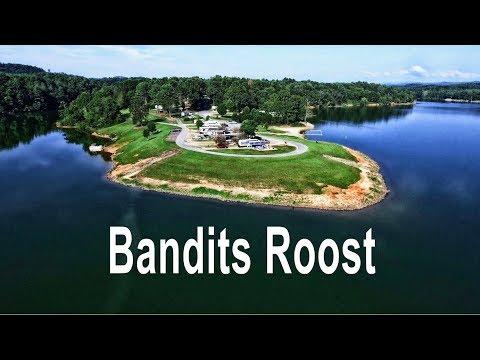 Bandits Roost Campground - W. Kerr Scott Reservoir, NC
