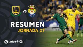 Resumen de AD Alcorcón vs UD Las Palmas (2-0)