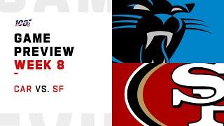 Carolina Panthers vs San Francisco 49ers Week 8 NFL Game Preview