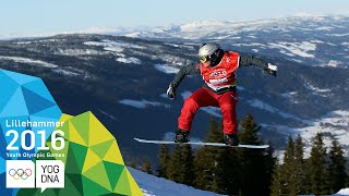 Snowboard Cross - Manon Petit (FRA) wins Ladies' gold | Lillehammer 2016 Youth Olympic Games
