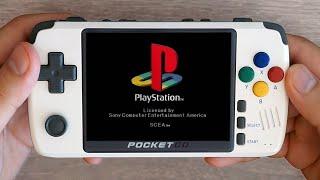 ¿Puedes jugar Resident Evil en esta consola portatil barata ? PocketGo V2 ¡¡EMULA PLAYSTATION!!