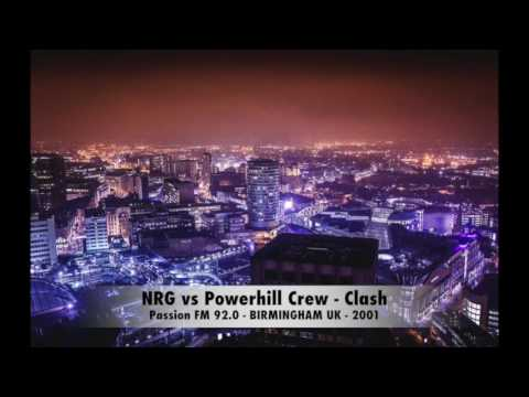NRG vs Powerhill Crew Clash - Passion FM 92.0 - Birmingham UK 2001