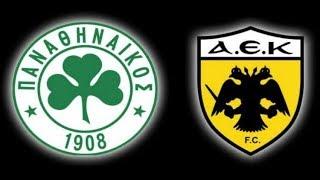 Παναθηναϊκός vs ΑΕΚ 1-1   Live Streaming   {19.11.2017}