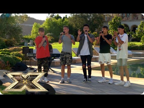 Say You Won't Let Go, Vibe 5!   Judges' Houses   The X Factor UK 2018