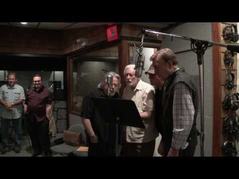 Jake Rowley studio rehearsal with D.J. Fontana and Ray Walker
