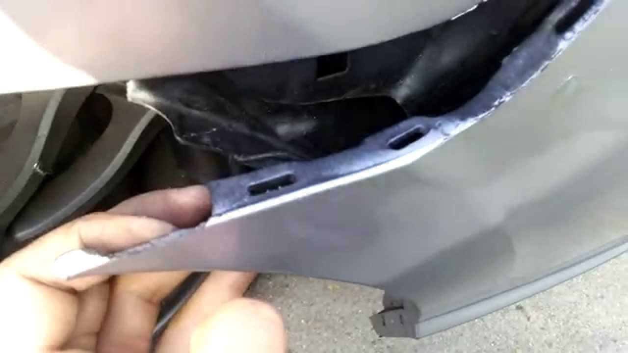 2006 Honda Civic Front Bumper Youtube
