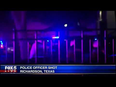 Richardson, Texas police officer shot, killed