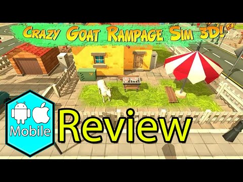 Crazy Goat Rampage Sim 3D Gameplay Review