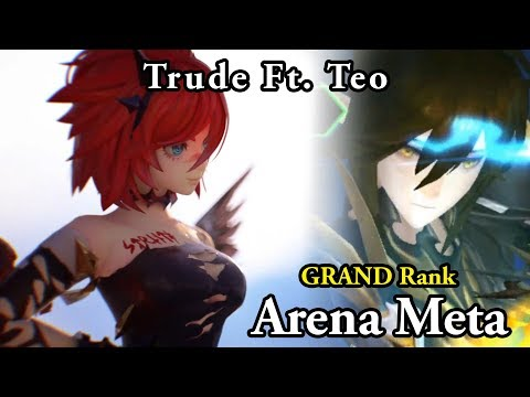 Seven Knights Arena - My Teo Team for Arena (Trude's Mythical Awakening)